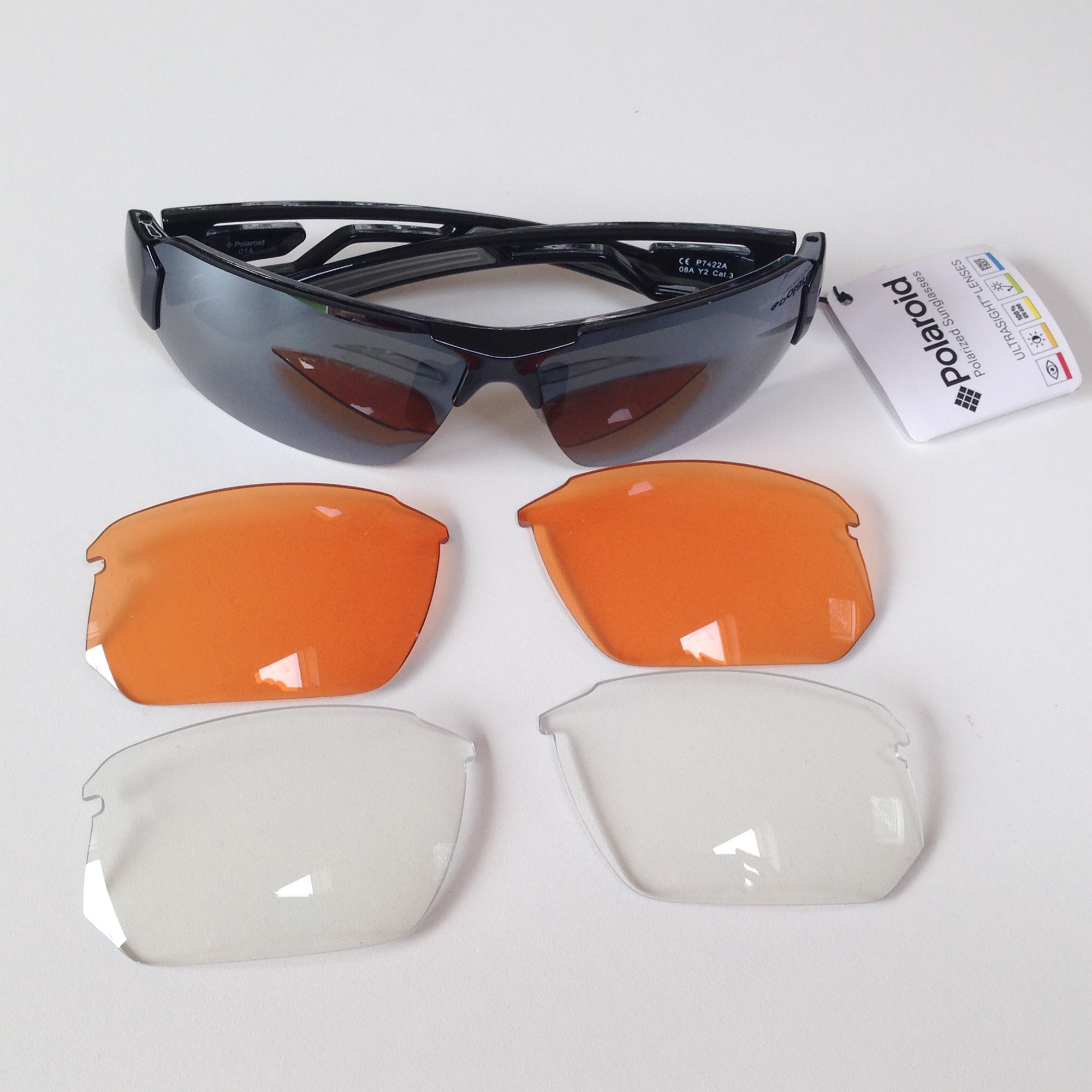 Con Occhiali Ray Ultrasight P7422 Da Polarized Lenti Sole 0wknPO