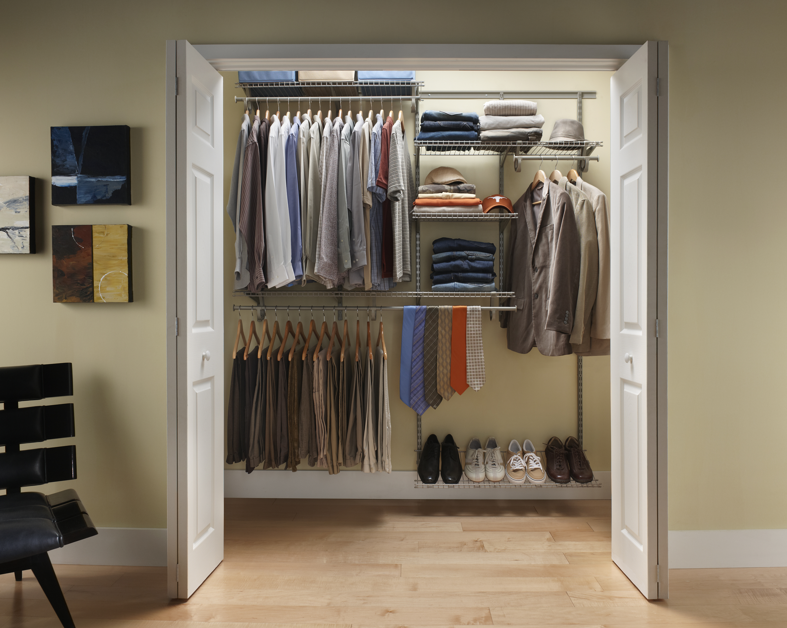 Exceptionnel ClosetMaid ShelfTrack 6 Ft 8 Ft W Closet