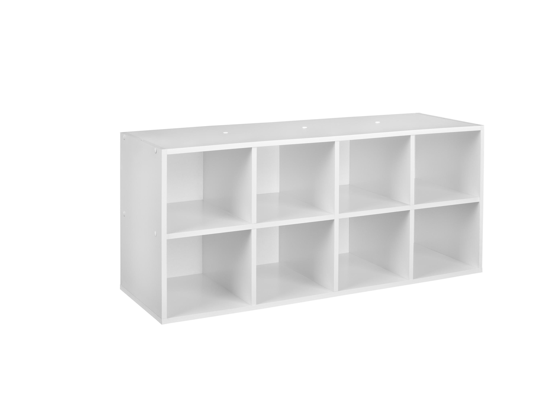 White Shoe Cube Organizer