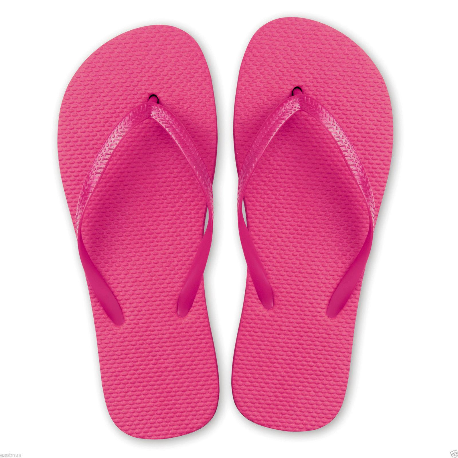10 X Unisex Flip Flops - Party Favour Shoes Wedding -3425