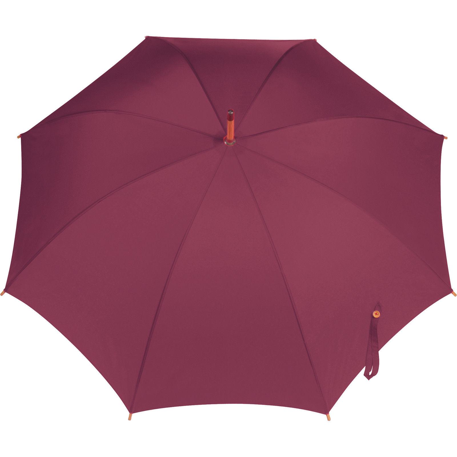 3bfb0be63bc9 Matrimonio classico stile ombrello con impugnatura in legno. Apertura  manuale. -106Cm 42
