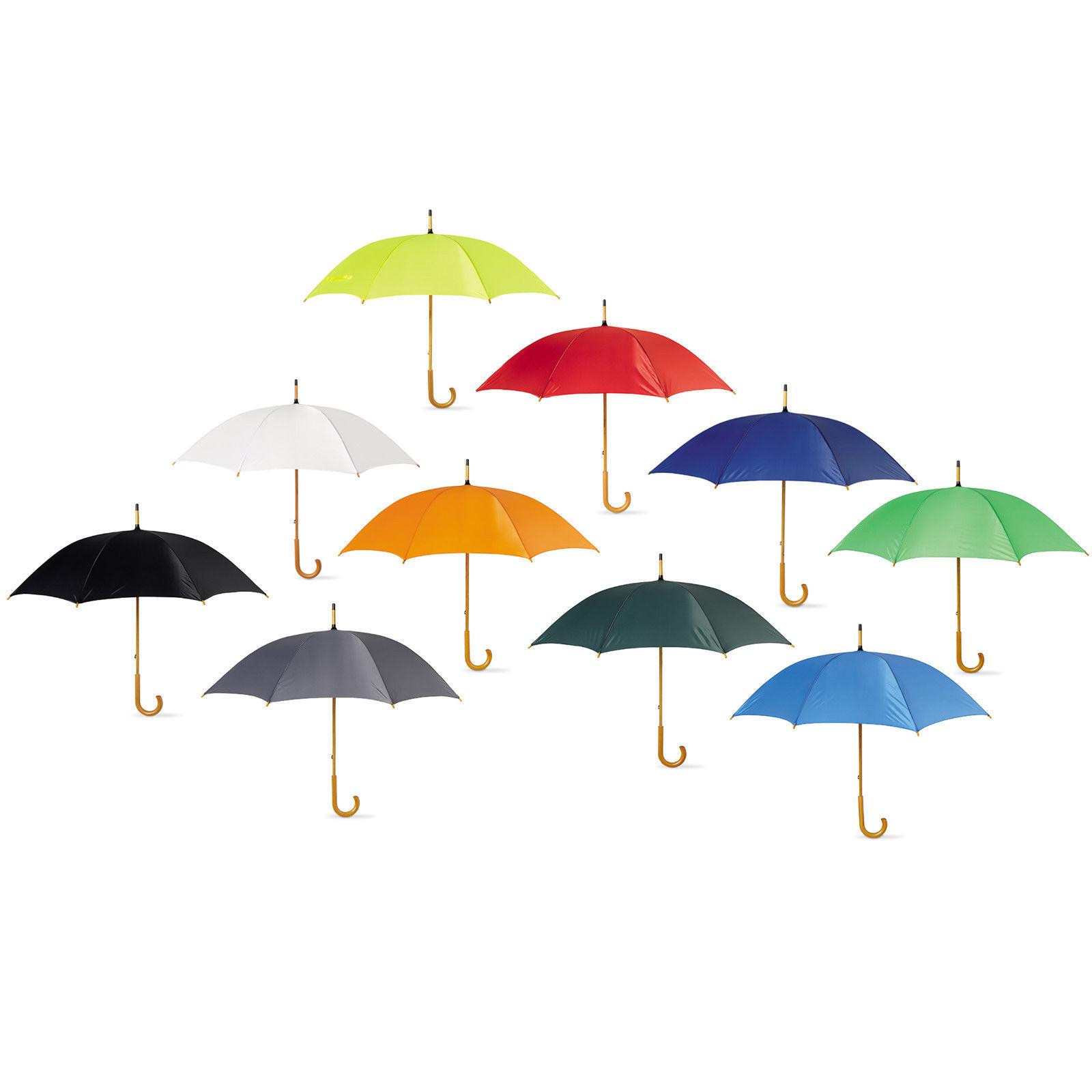5-Wedding-Style-Umbrellas-with-crooked-wooden-handle-Bride-Groom-Bridesmaid