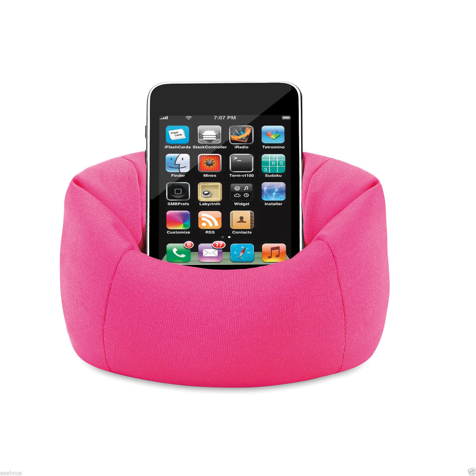 Bean Bag Sofa Chair Mobile phone holder to fit all brands useful