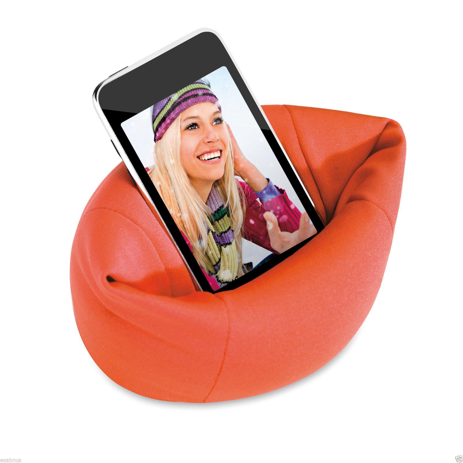 Bean Bag Sofa Chair Mobile Phone Holder To