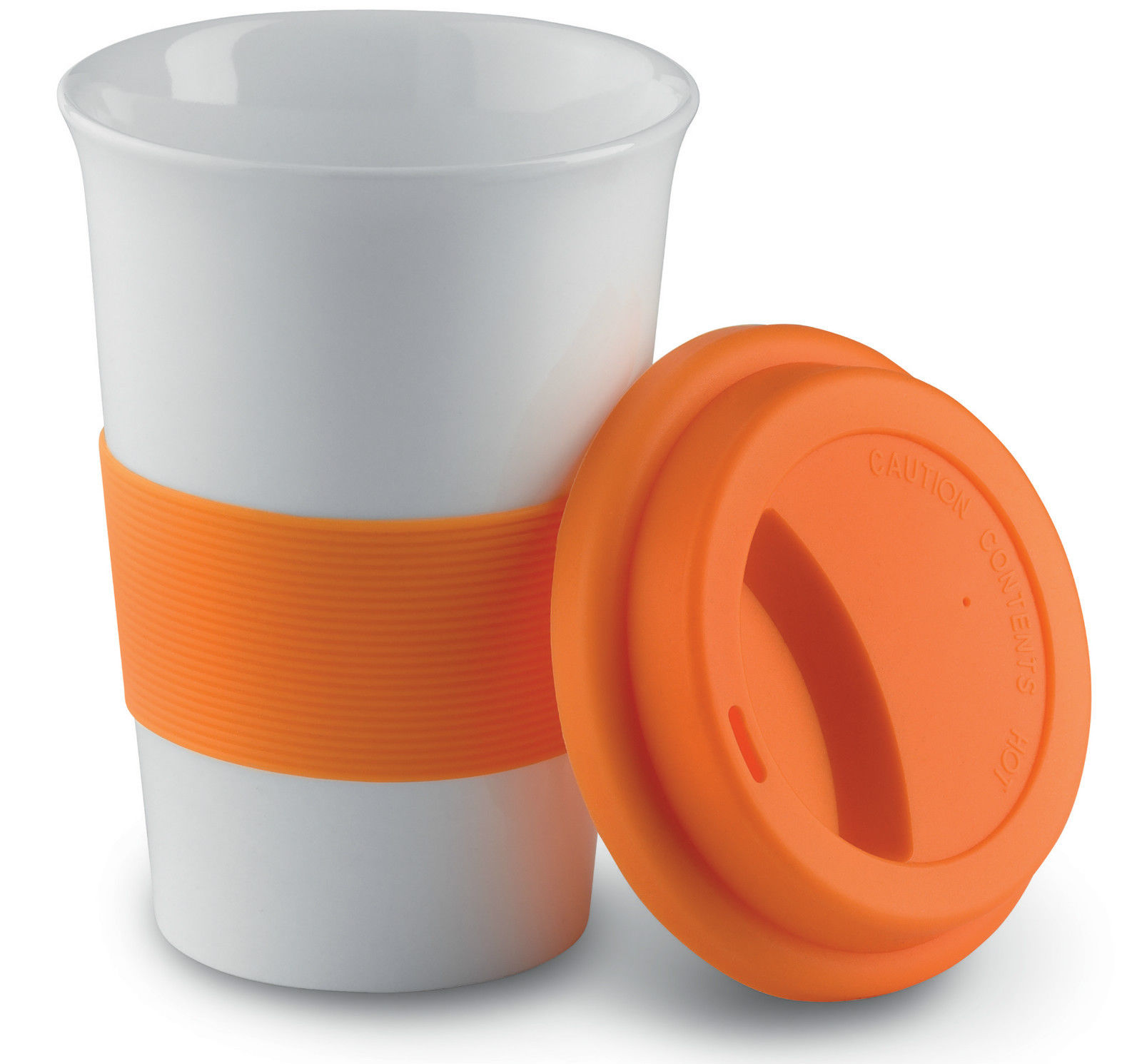 Travel Coffee Mug With Silicone Lid