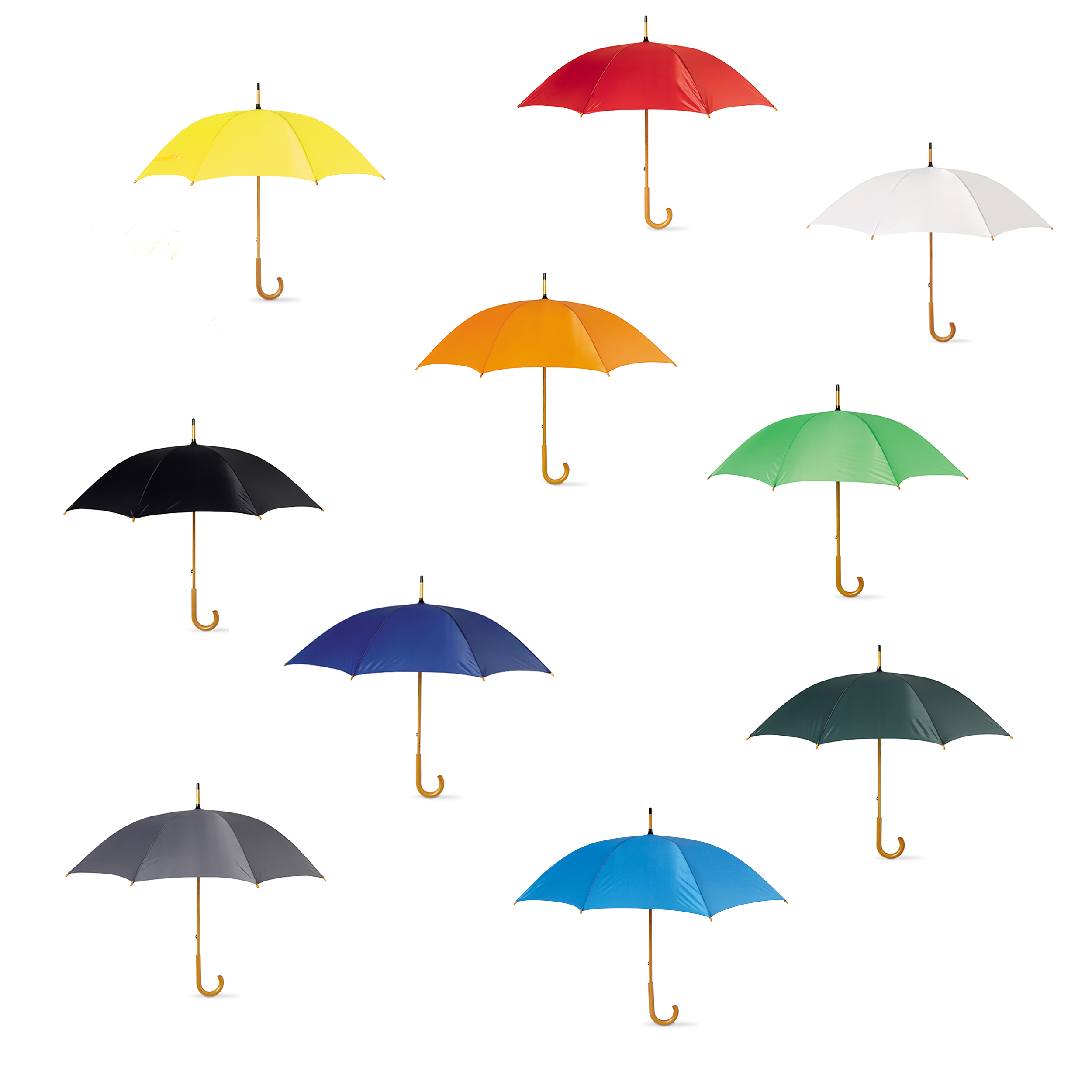 3-Wedding-Style-Umbrellas-with-a-crooked-wooden-handle-Bride-Groom-7-colours