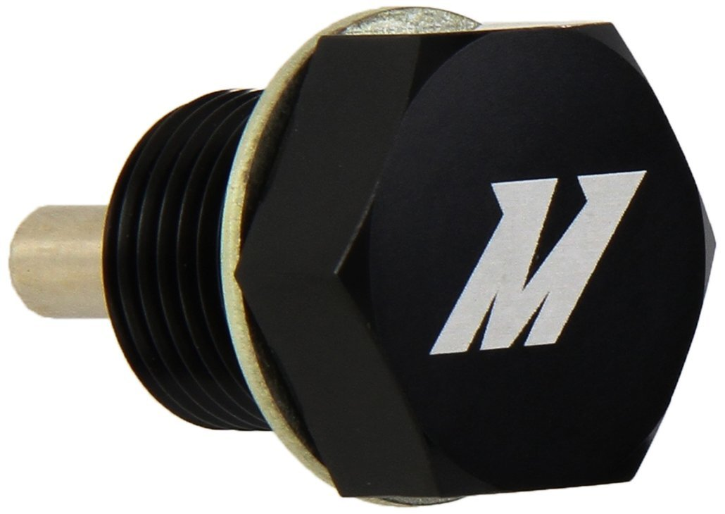 Mishimoto  MMODP-14125B Magnetic Oil Drain Plug M14 x 1.25 Black