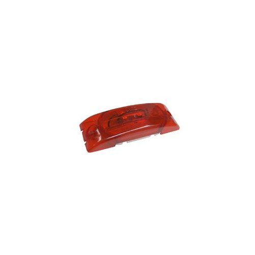 Grote 45442 Red Two-Bulb Turtleback No-Splice Clearance Marker Light