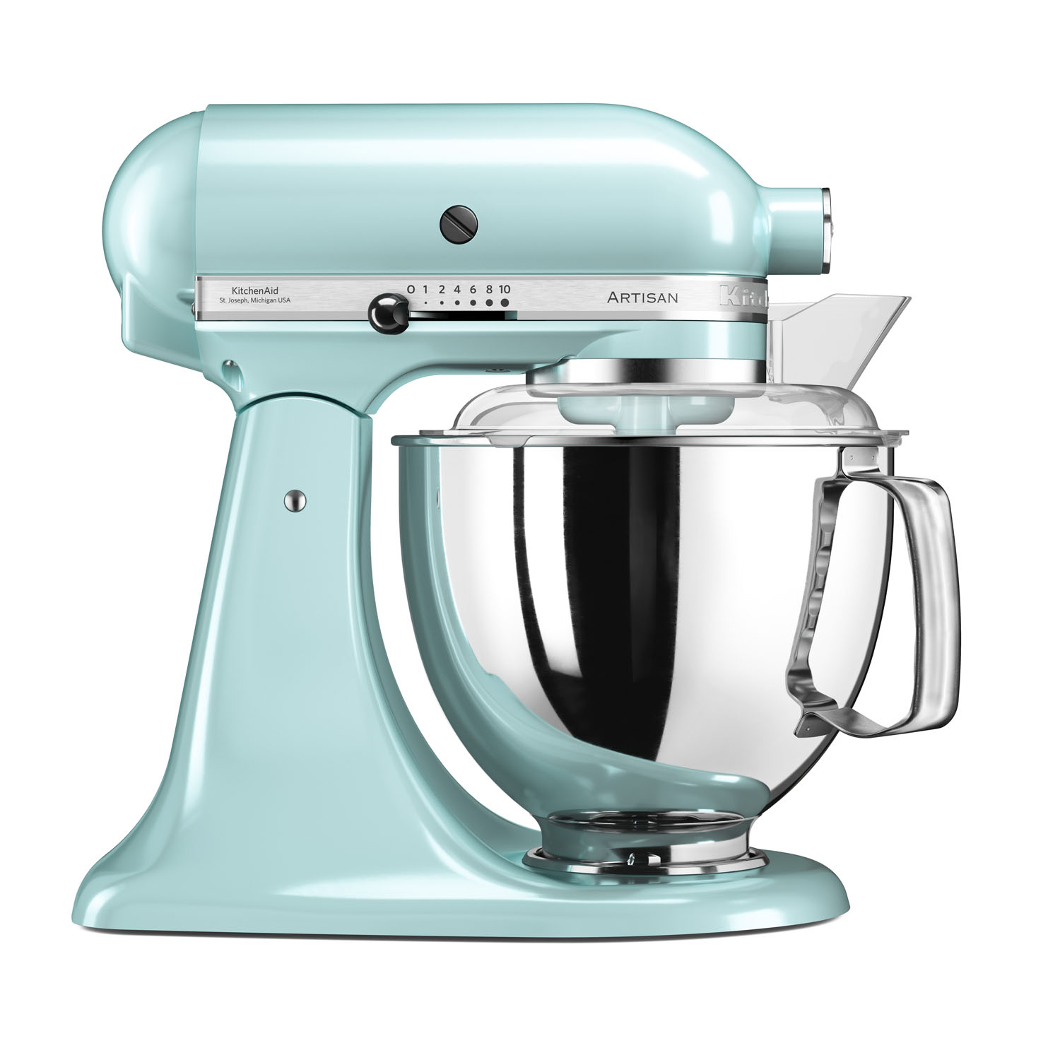 KitchenAid Artisan 5KSM175PSBIC 4.8 L Stand Mixer - Ice Blue ...