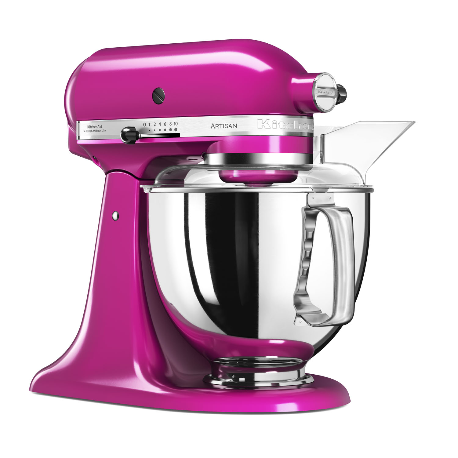 Kitchenaid Artisan 5ksm175psbri 4 8 L Stand Mixer Raspberry Ice