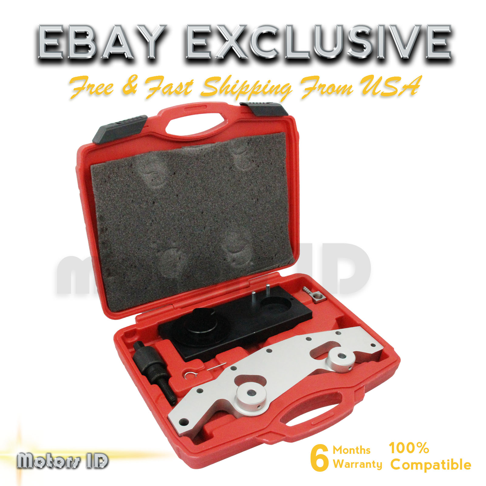 Camshaft Alignment Timing Tool Kit With Double Vanos For