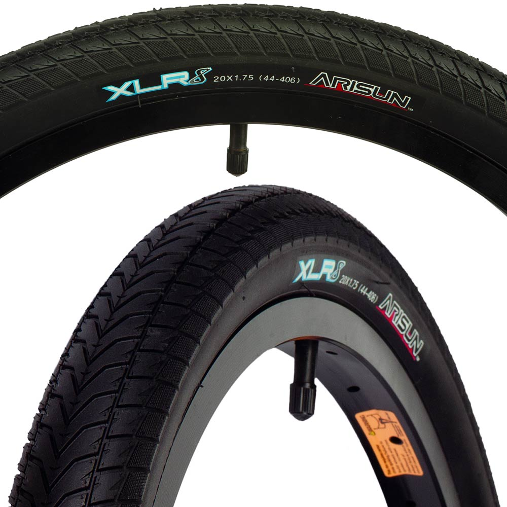 Bk//Blk Bmx 75 Wire 20X2.25-406 Arisun Cutting Edge         Tires