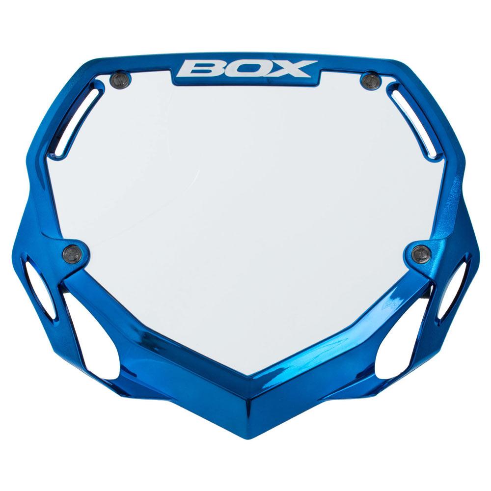 BOX COMPONETS BMX  NUMBER PLATES PRO BLUE