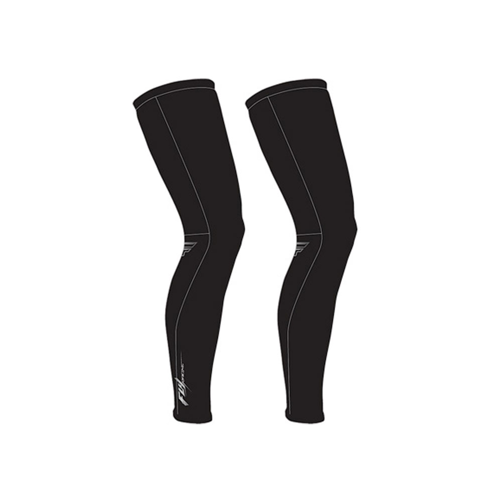 Black Madison Road Race Optimus Cycling Leg Warmers