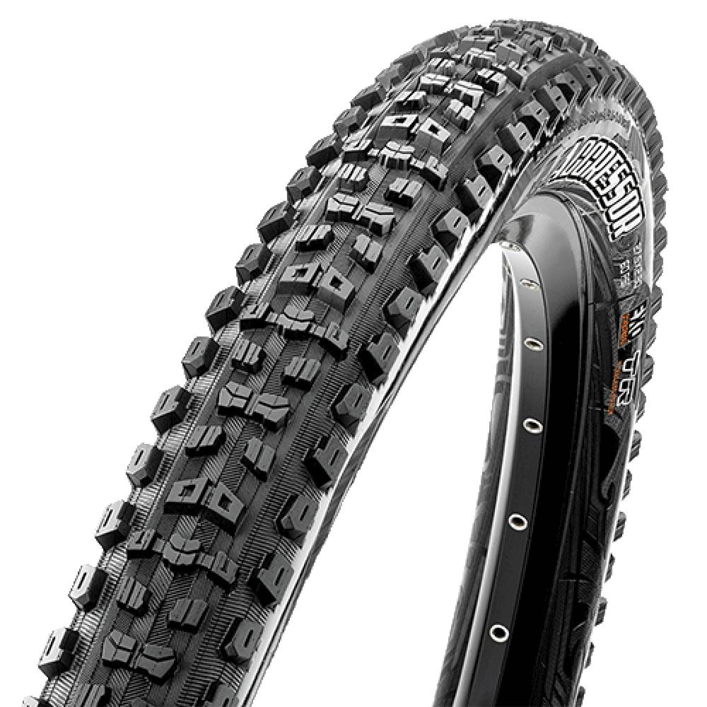 New Maxxis Aggressor 27.5 x 2.5WT Folding EXO TR Mtn 2.50 Tire Dual Tubeless