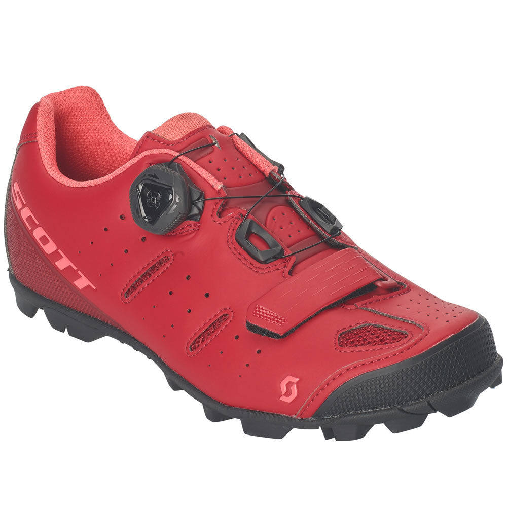 41 Elite details about scott mtb elite boa lady shoes 41 merlot red/camellia pink