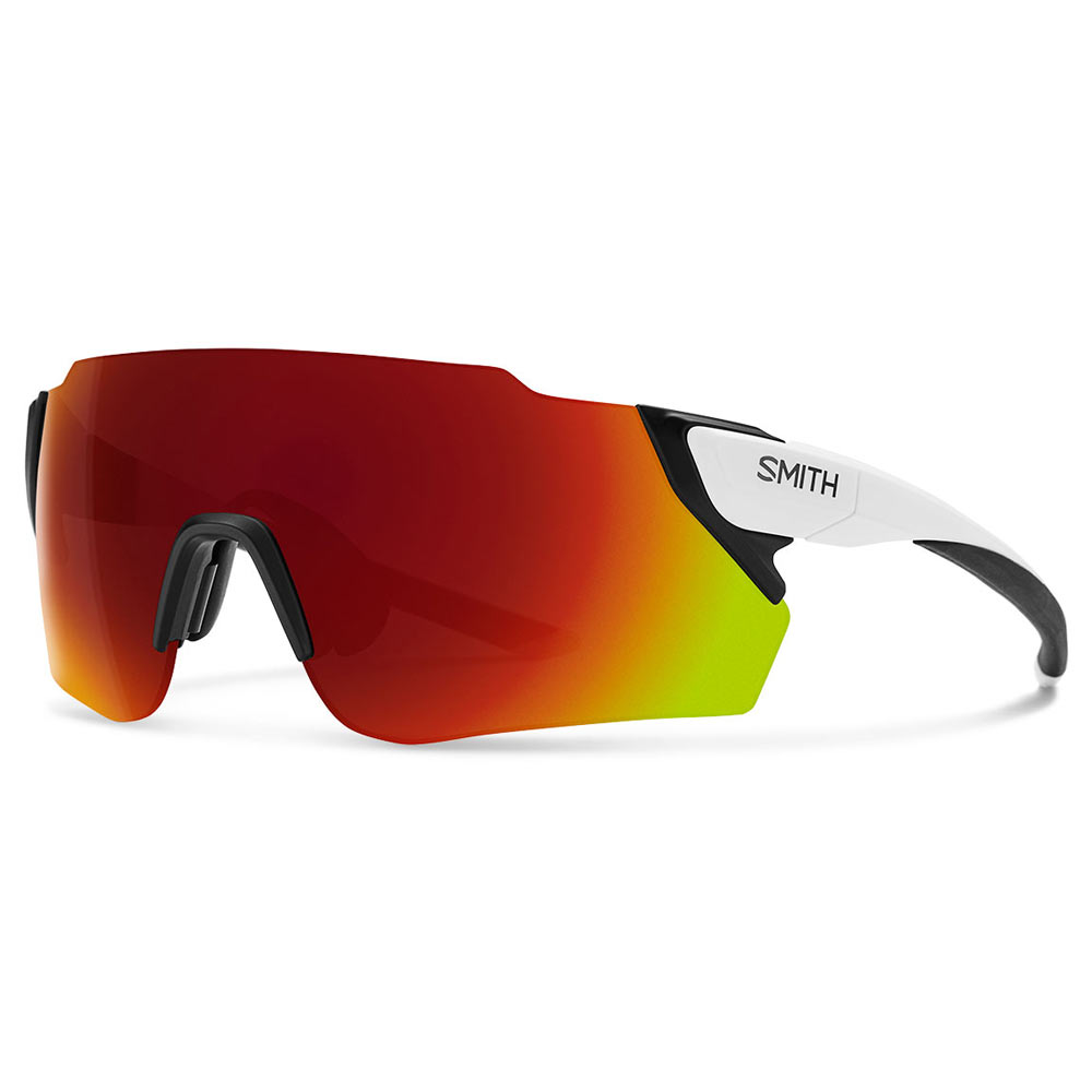 f053bd62fa323 Smith Optics Attack Max ChromaPop Sunglasses Large Fit Matte White ...