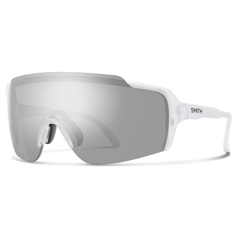 1d4656579b1eb Smith Optics Flywheel ChromaPop Sunglasses Medium Fit Matte Crystal Platinum