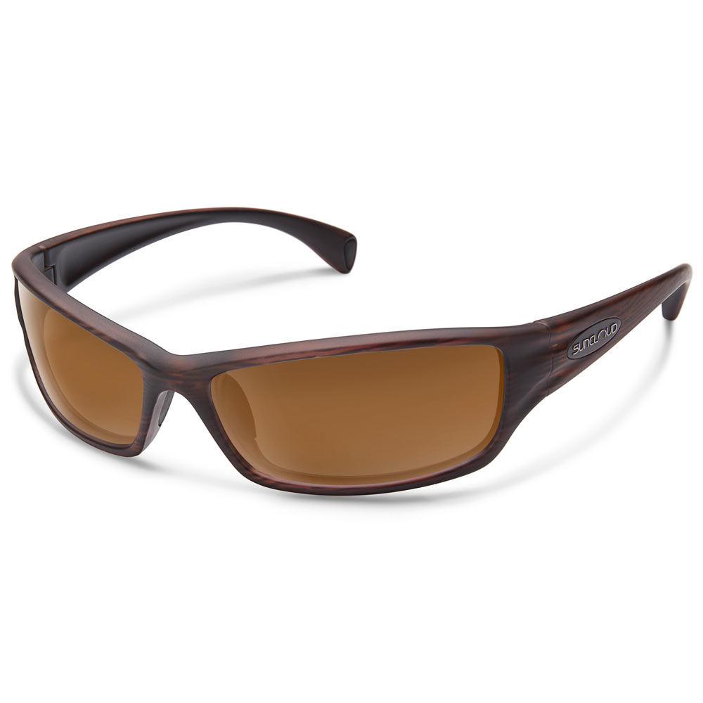 7983e0d12c9ae Suncloud Hook Polarized Sunglasses Burnished Brown Brown Medium Fit ...