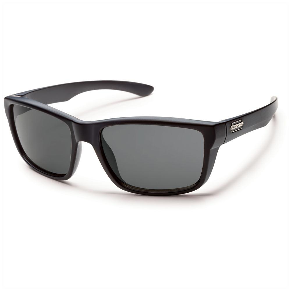 e3578b67fd1 Suncloud Mayor Polarized Sunglasses Matte Black Gray Medium Fit ...