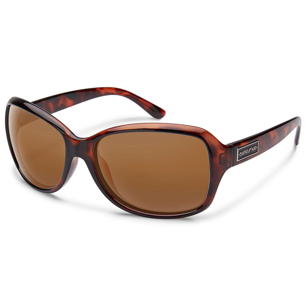 0f96fd491c Suncloud Mosaic Polarized Sunglasses Medium Fit Tortoise Brown ...