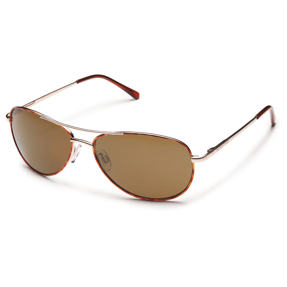 930d48a30e8 Suncloud Patrol Polarized Sunglasses Tortoise Brown Medium Fit ...