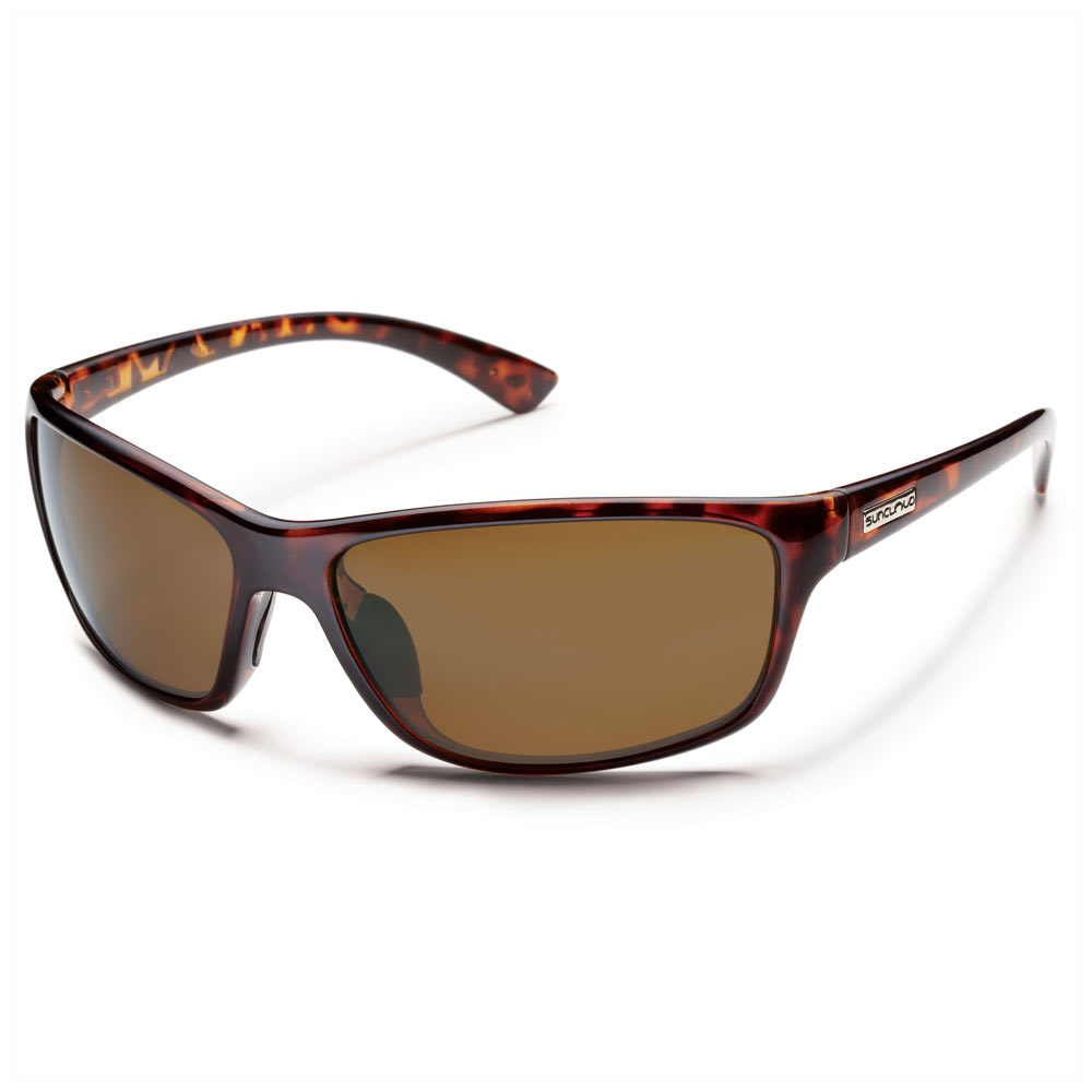 368b5414b1 Suncloud Sentry Polarized Sunglasses Tortoise Brown Medium Fit