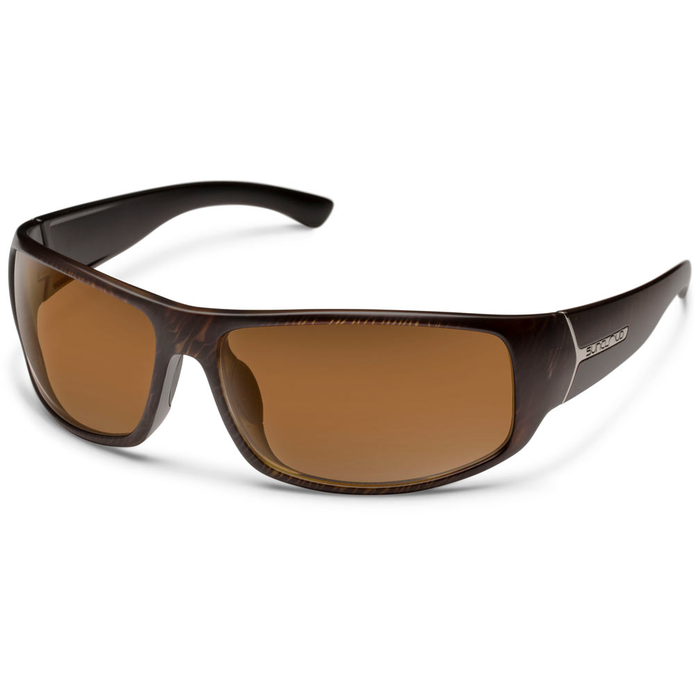 a5e8605e3b Suncloud Turbine Polarized Sunglasses Large Fit Blackened Tortoise Brown