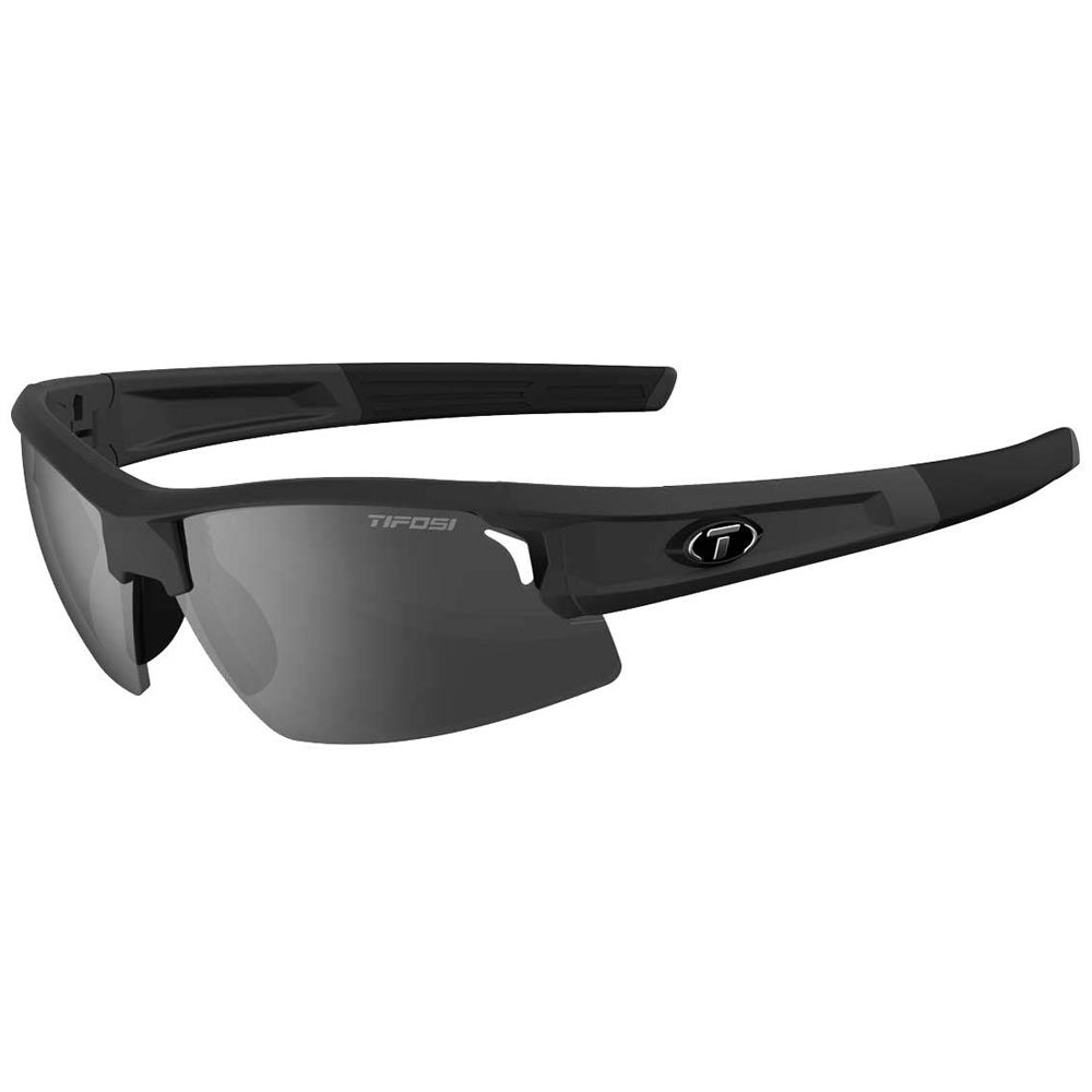 ea84f448d3a Tifosi Synapse Sunglasses Matte Black Smoke AC Red Clear ...