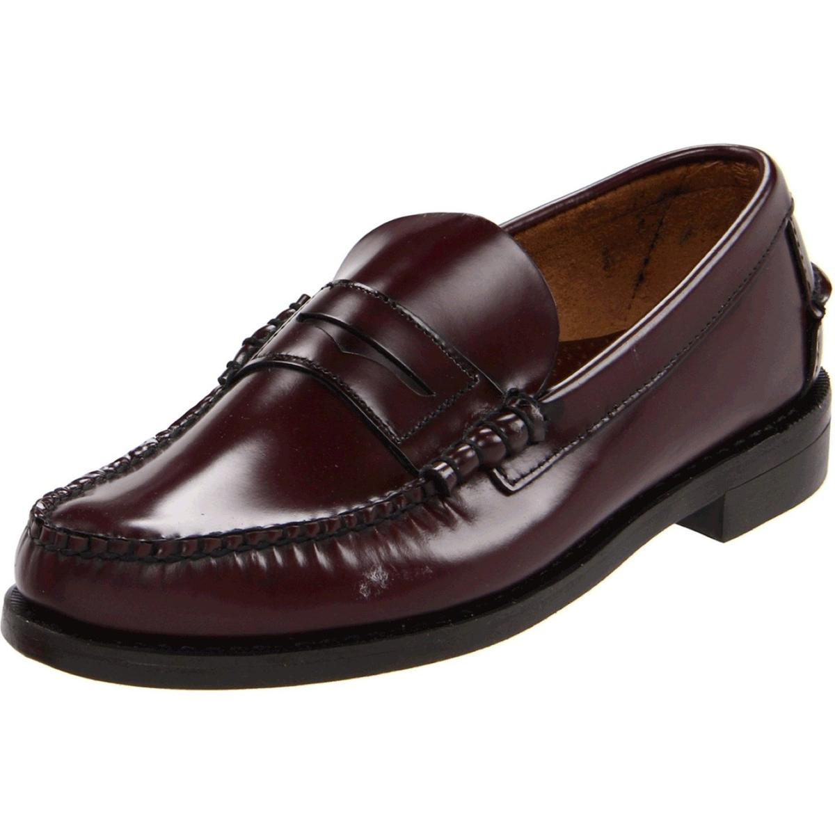 0249baadb4 Details about Sebago Classic Antique Mens Antique Brown Loafers