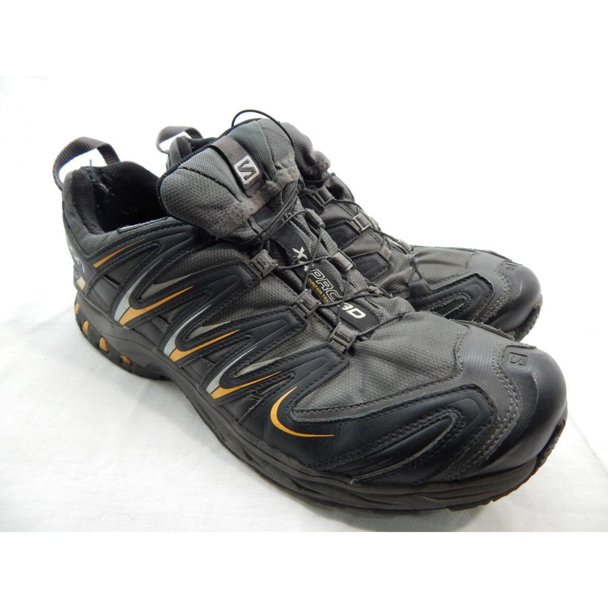Salomon X Ultra 2 GTX Men's AutobahnBlackTomato Red Hiking Shoe 14M