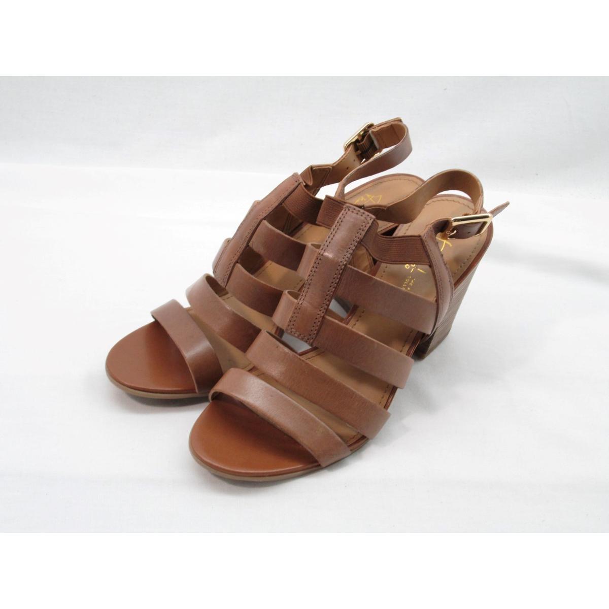 587f5e1ca15 Details about Franco Sarto Montage Women s Tan Platform Sandal 10M