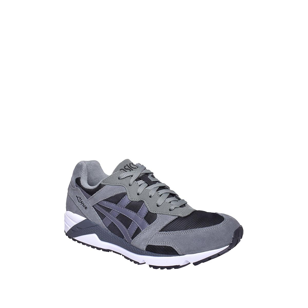 the latest a0a6f 8eb7f Details about ASICS Gel-Lique Men's Black/Dark Grey Casual Sneakers 9M