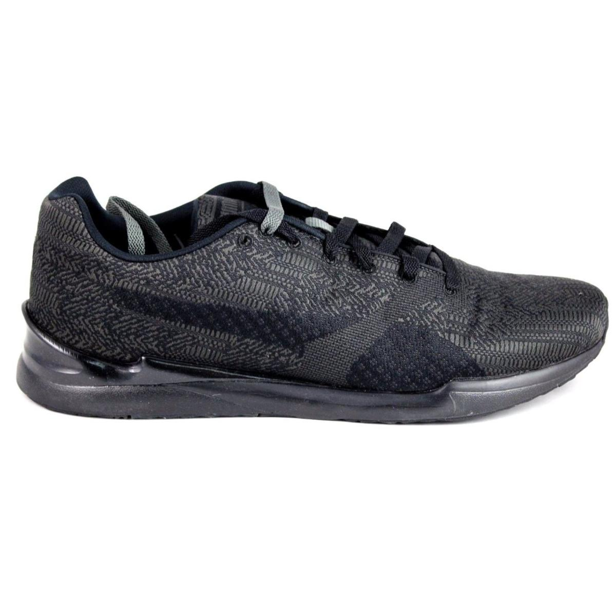 96c199776835 Puma Men s XS 500 Woven Dark Shadow Black Sneaker 13M 888536298142 ...