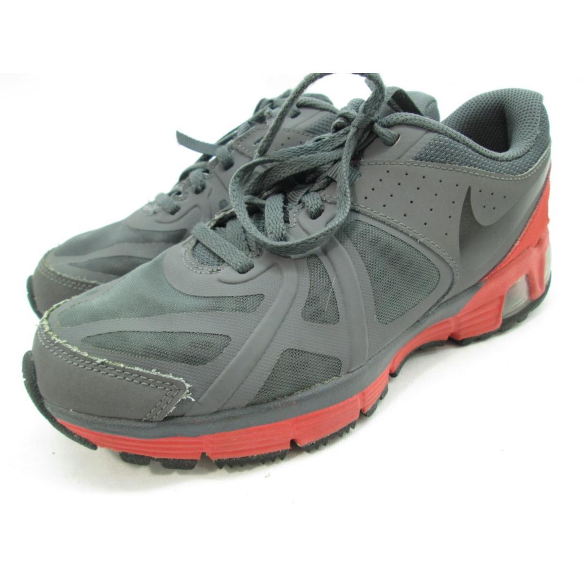 e3bb0029f6571 Details about Nike Boy's Air Max Run Lite 5 (GS) Dark Grey/Black/Lt Crimson  Shoe 5.5Y