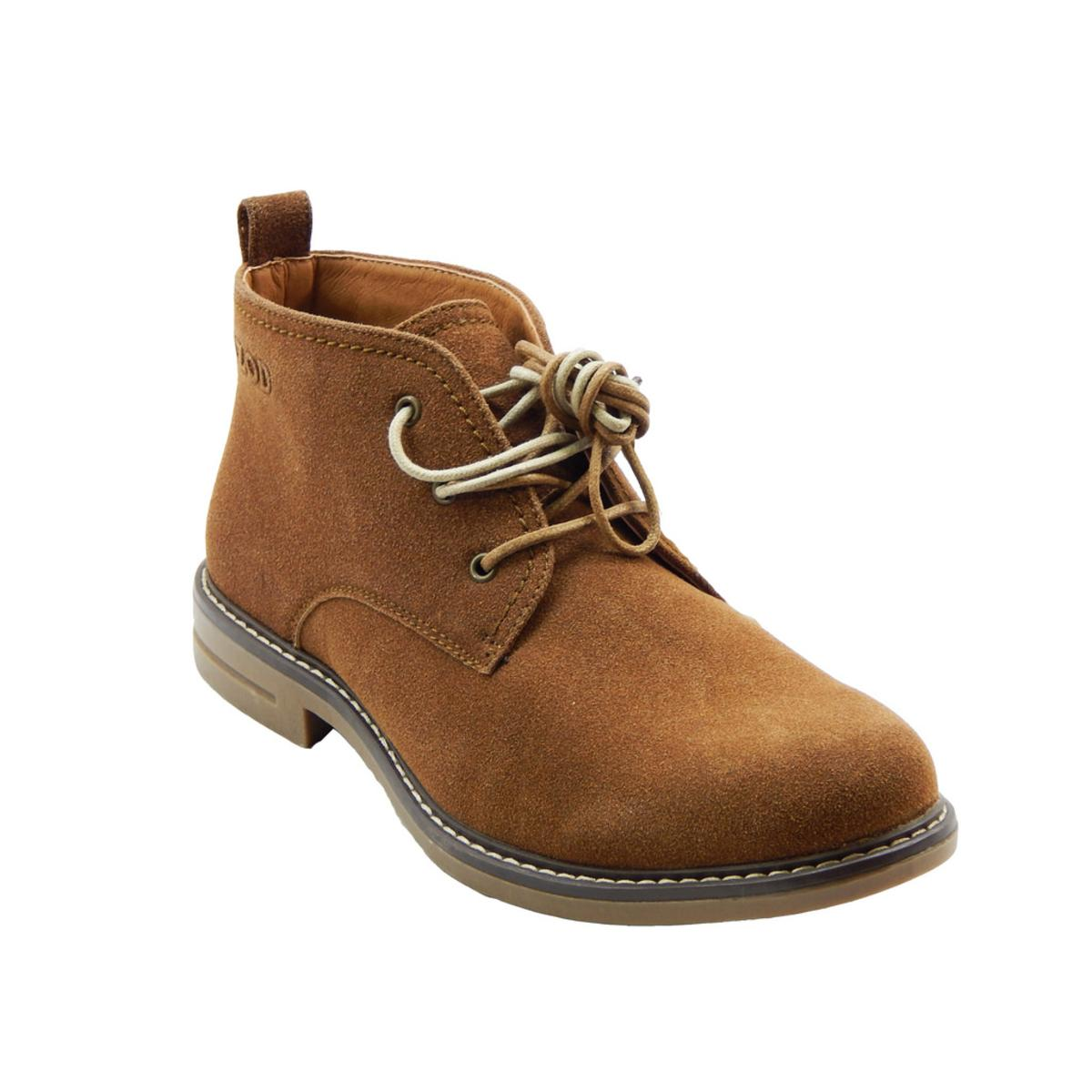 c730d1a06 Details about Izod Cally Men's Brown Chukka Boots 8M