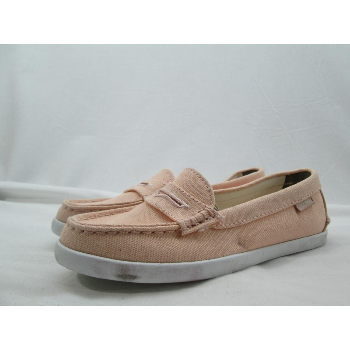 32af4abf971 Details about Cole Haan Women s Canyon Rose White Canvas Pinch Weekender  Loafers 6M