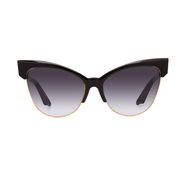 93f7f649f1f NEW Dita Temptation Sunglasses 22029A Black Gold   Gray Gradient 100%  AUTHENTIC