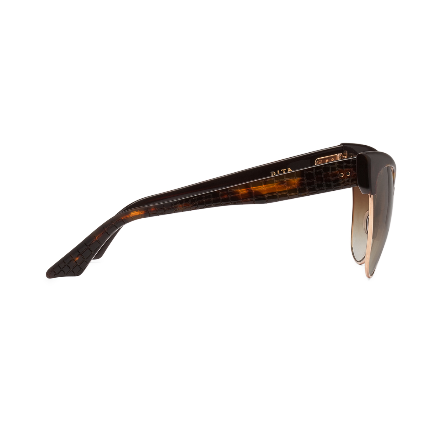 f167b595fe6 NEW Dita Temptation Sunglasses 22029B Tortoise Burnt Brown 12K Gold   Brown  Gold