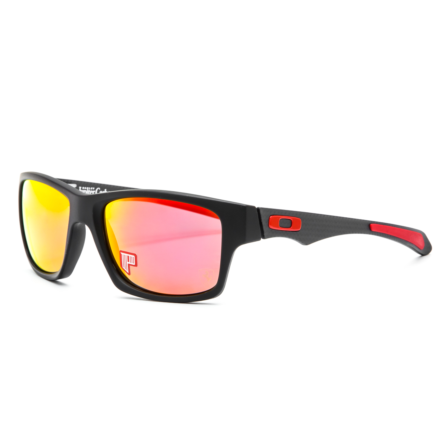 1d1817c768 Details about Oakley Ferrari Jupiter Carbon Sunglasses OO9220-06 Carbon    Ruby Irid Polarized