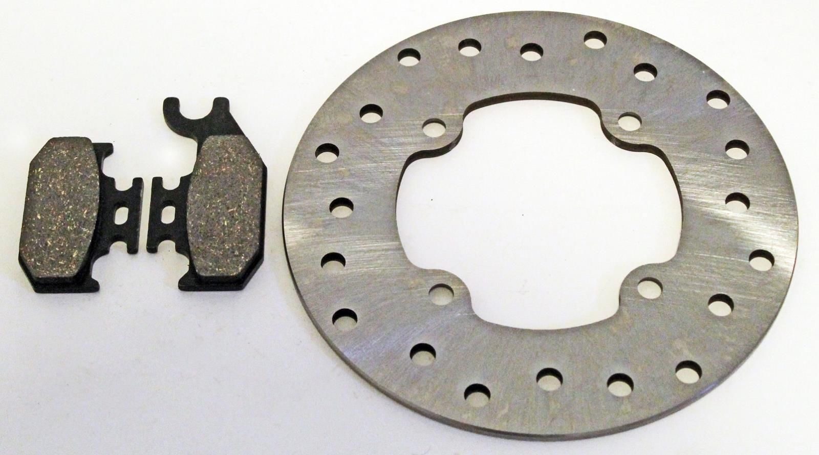 Can-Am Outlander Max 800 LTD 4X4 Brake Pads Front and Rear fits 2007 2008 2009