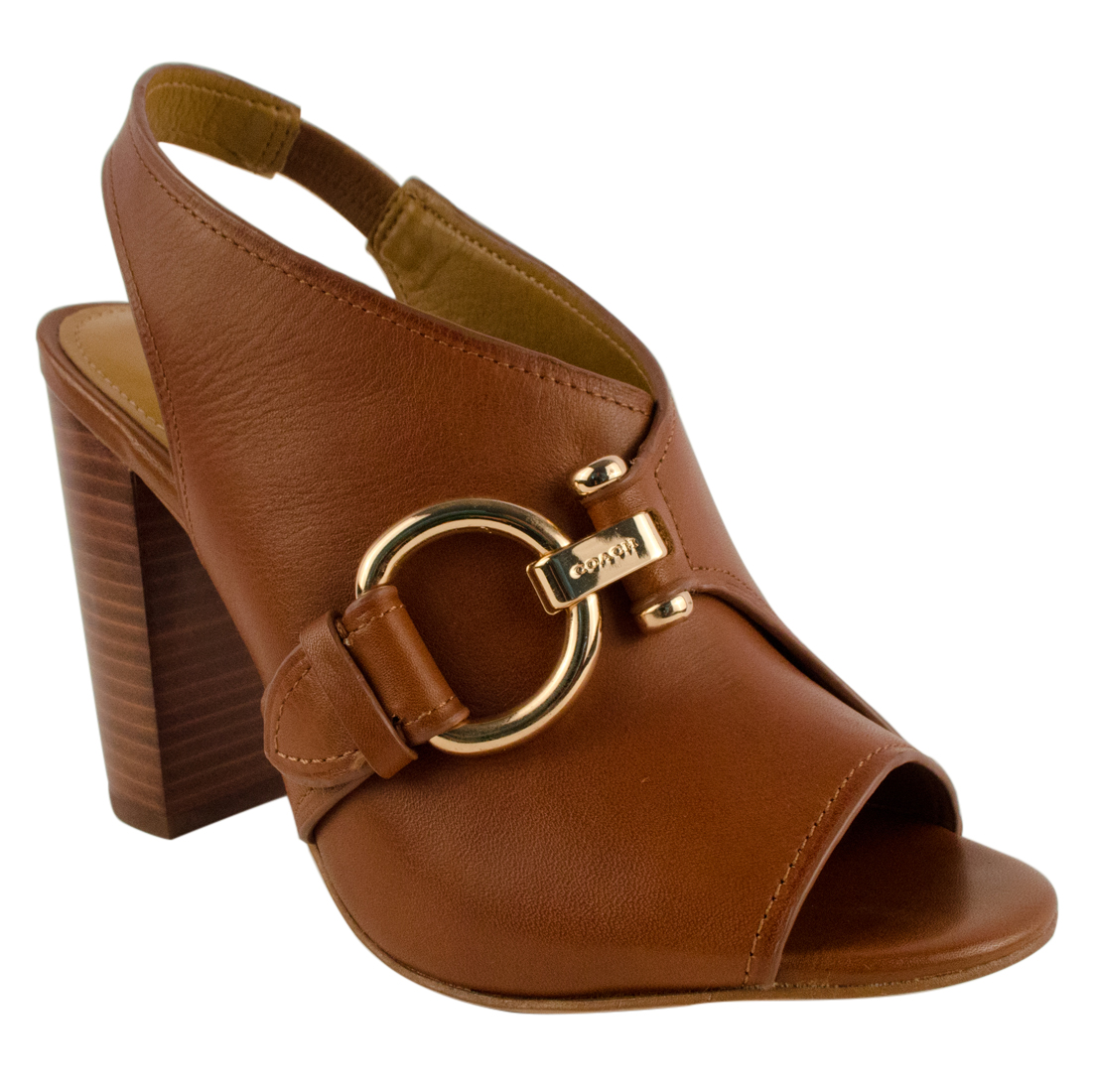 COACH Women's Sherry Peep Toe Sling Back Dress Sandals | eBay