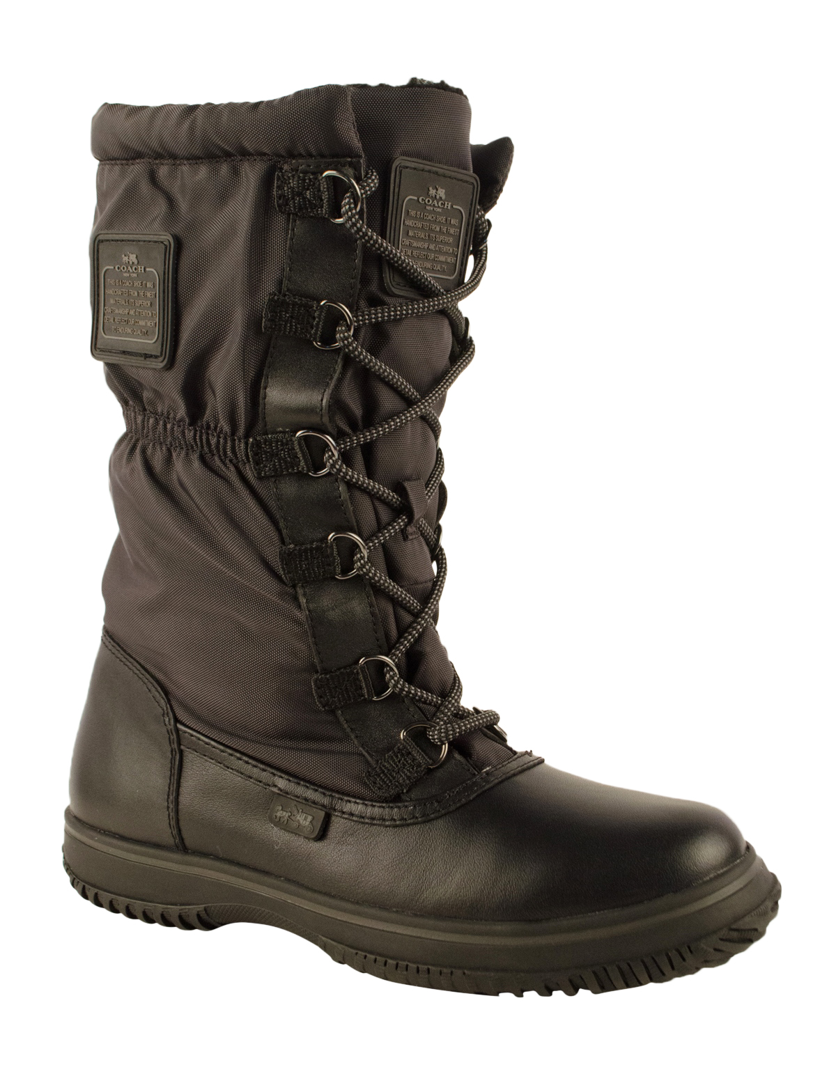 Coach Women S Sage Cold Weather Lace Up Boots Ebay