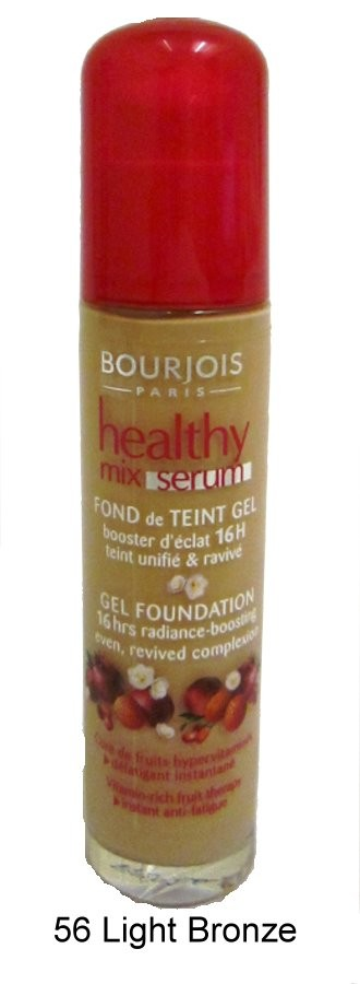 2-x-Bourjois-Healthy-Mix-Serum-Gel-Foundation-30ml-New-amp-Sealed-Various-Shades