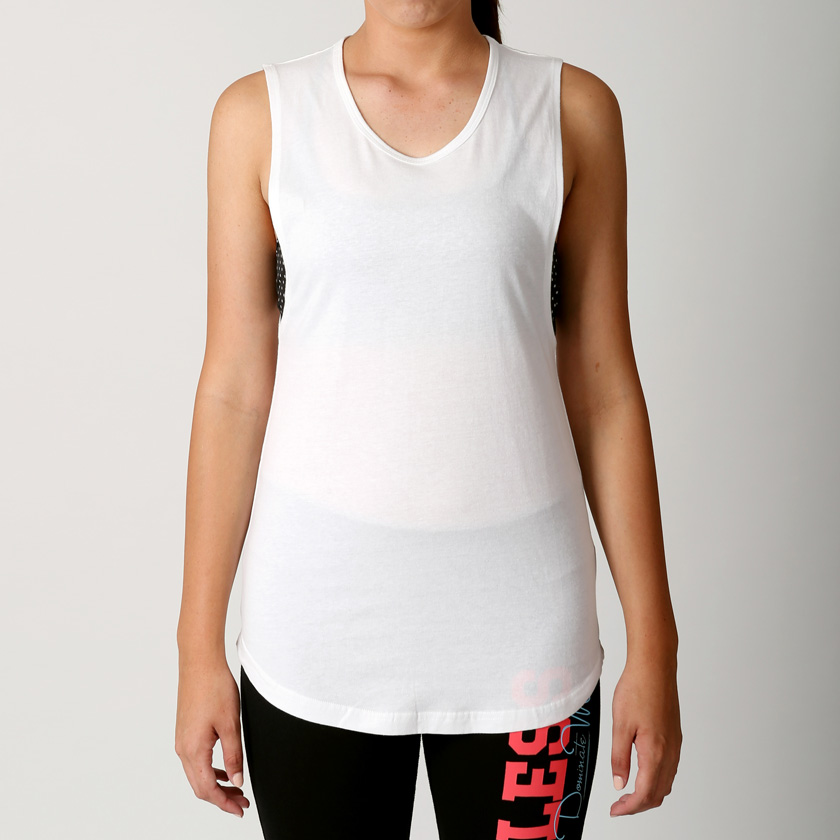 Womens Yoga Workouts Strappy Back Sport Tank: New Womens Macri Gym Yoga RacerBack Tank Ladies Fitness