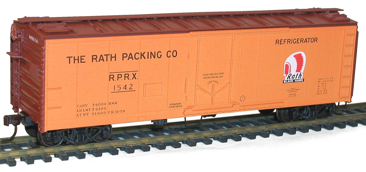 50/' Plug Door Steel Box Kit Rd #546 Southern Ry. Accurail HO #5825