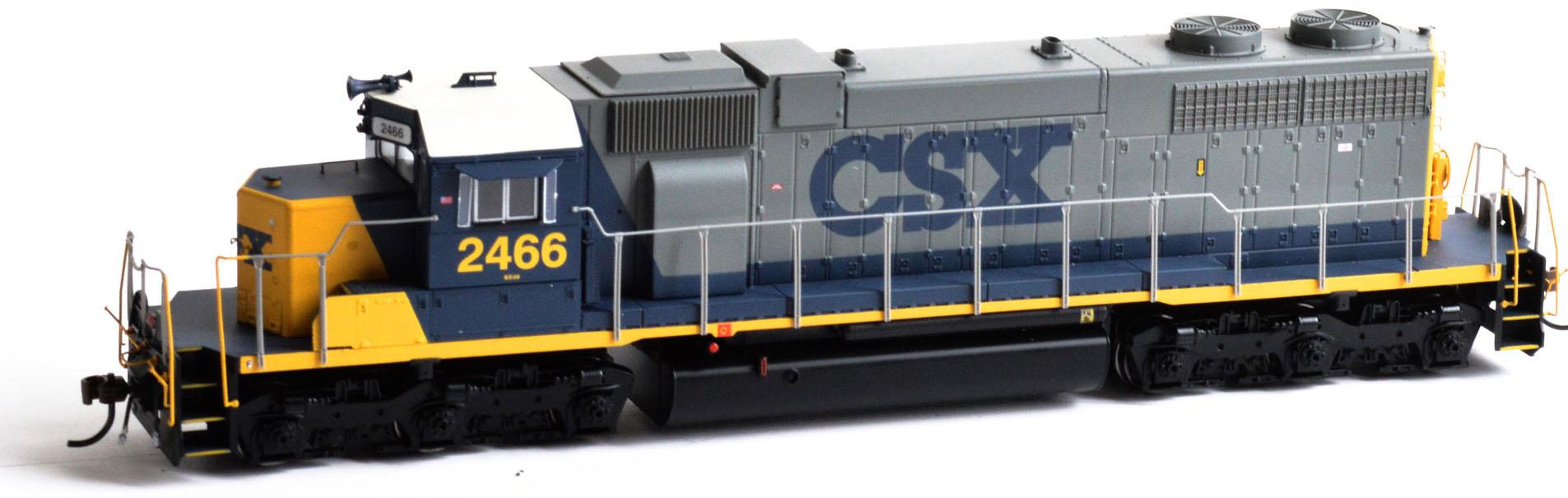 Athearn HO Scale EMD SD38 SD38 SD38 Diesel Locomotive CSX Transportation YN2  2466 0c2cfc