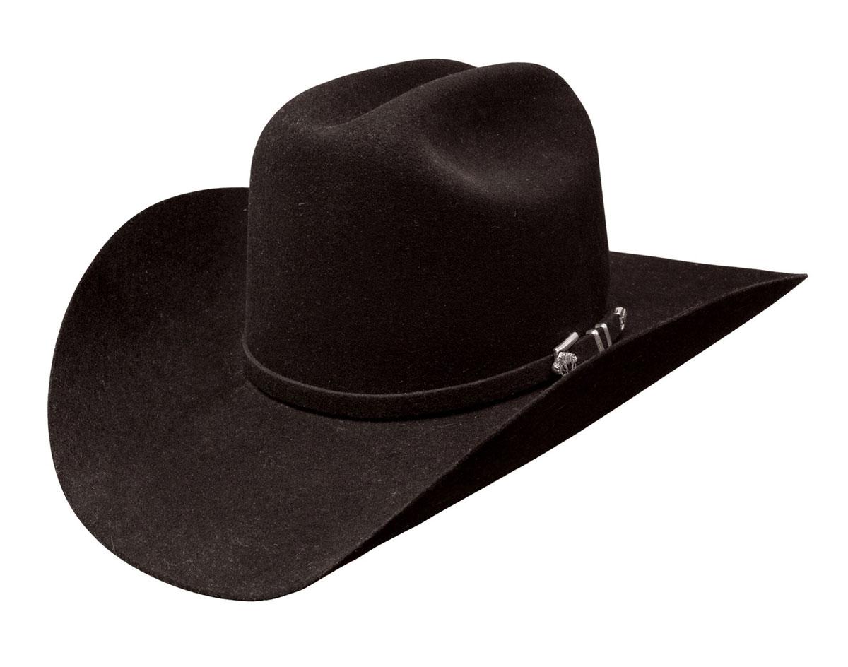 Brand  Stetson Style  Apache Material  4X Buffalo Fur Felt Color  Black  Size  7.75. Responsive image 816c53ffbaf9