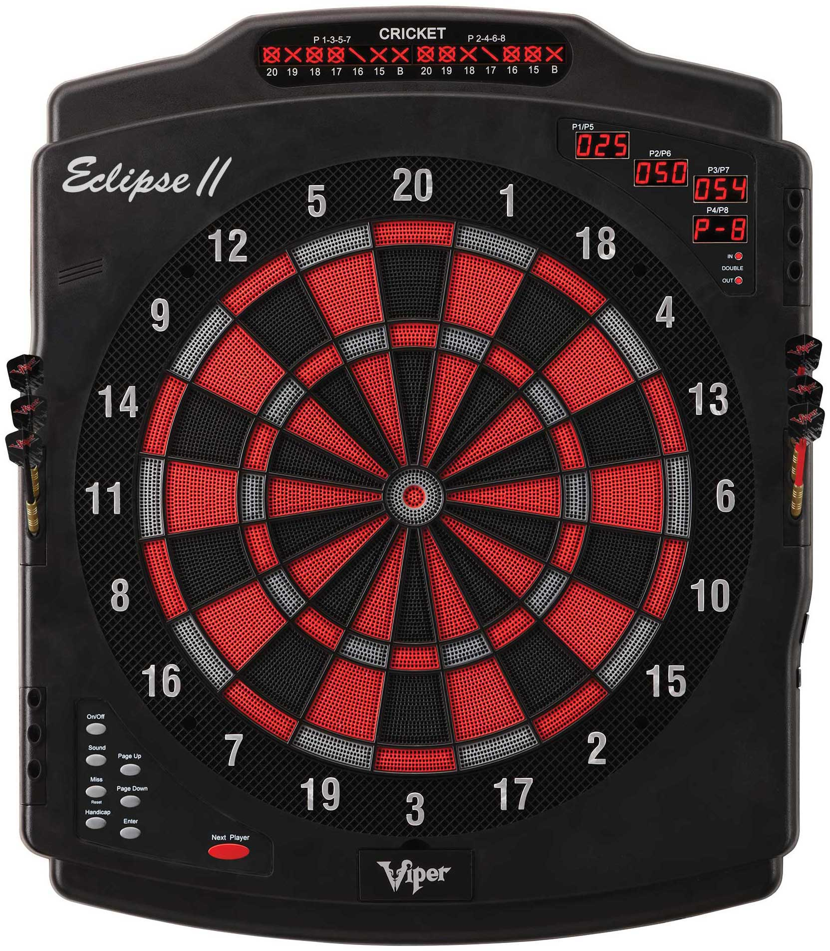 Viper Eclipse Electronic Dartboard Dart Board Game NEW
