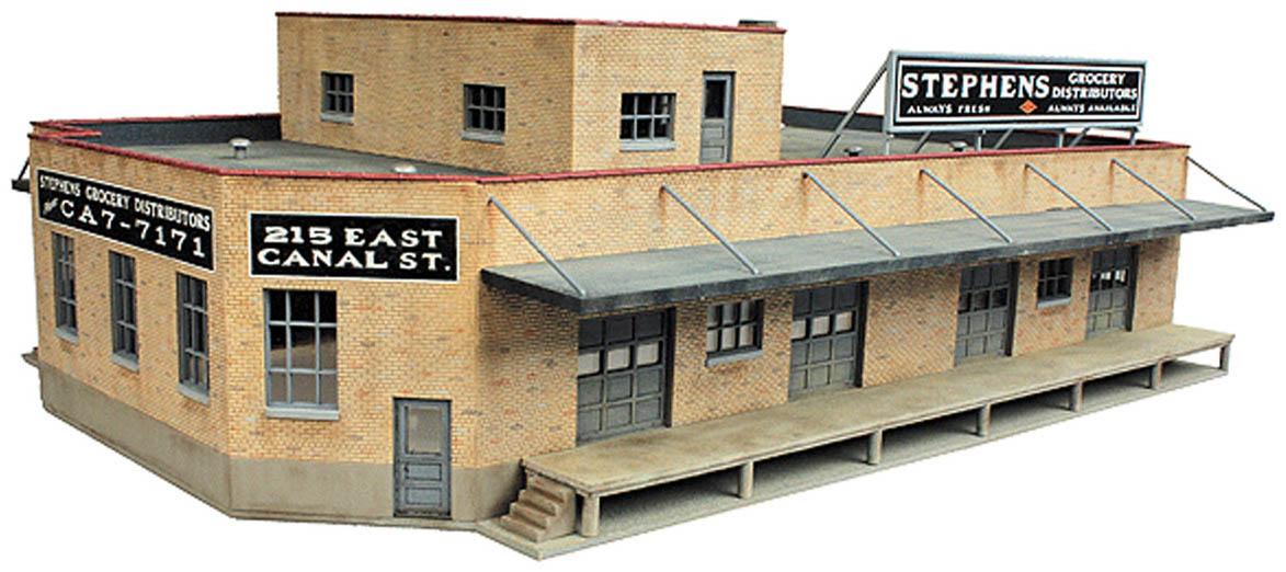 Walthers Cornerstone HO Scale Building//Structure Kit Security Details